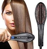 voltonix® Hair Electric Comb Brush 3 in 1 Ceramic Fast Hair Straightener For Women's Hair...