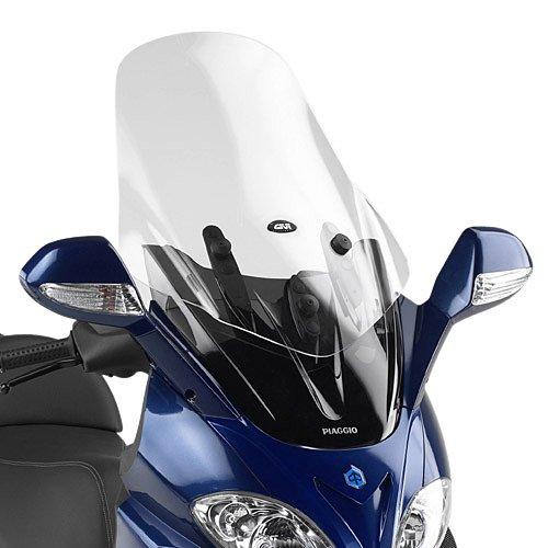 Preisvergleich Produktbild Motorrad Windschutzscheibe Piaggio X9 500 / Evolution 03-08 Givi transparent