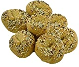 Low Carb Everything Bagels (10 Bagels) - Fresh Baked, All Natural, Sugar Free, High Protein, Diabetic Friendly, Low Carb Bagels