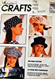 McCalls 6077 Misses' Hats Sewing Pattern, The Mad Hatter