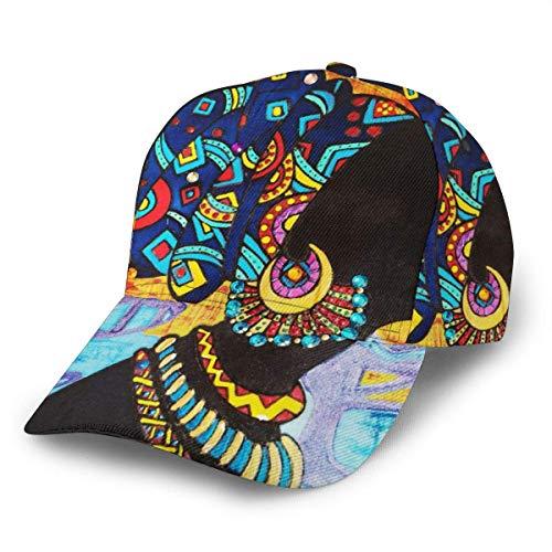 Quintion Cooper Gorra de béisbol afrocéntrica negra afrocéntrica gorra deportiva gorra de camionero ajustable para mujeres y hombres
