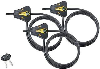Master Lock - Keyed Alike Trail Camera Python Adjustable Cable Locks 8419KA-3