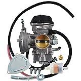waltyotur Carburetor Carb Replacement for 2002-2009 Suzuki Ozark 250 2004-2009 Suzuki Quadsport Z250