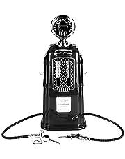 Dispensador De Cerveza Portátil Sistema De Equipos De Dispensación De Cerveza Armas Dobles Dispensador De Bomba De Vino Máquina 1000cc(Negro)