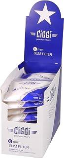 Ciggi Premium 6mm Slim Filter zum Drehen mit Klebefläche