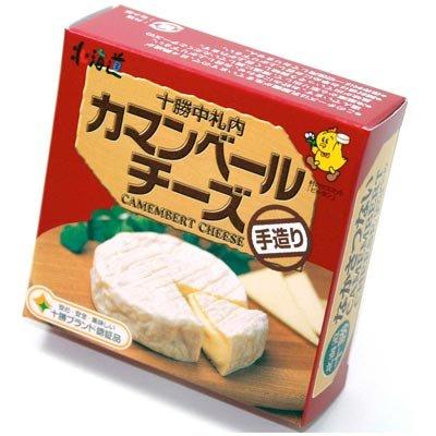 北海道【十勝ブランド認証品】十勝中札内カマンベールチーズ120g 4個
