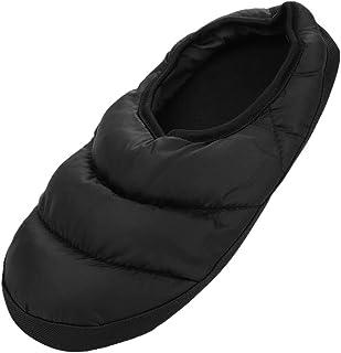IBLUELOVER Chaussons Hiver Femmes Hommes Chaussures d'intérieur Maison Pantoufles Antidérapante et Etanche Slippers Wrap C...