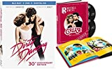 30 + 40 Year Anniversary edition of Grease with Yearbook & Dirty Dancing with Extras Double Feature DVD Blu-Ray Favorites Travolta Swayze Pack