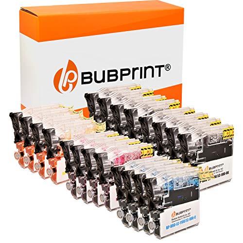 Bubprint Kompatibel Druckerpatronen als Ersatz für Brother LC-1100 LC-980 für DCP-145C DCP-195C DCP-165C MFC-250C MFC-490CW MFC-5490CN MFC-5890CN MFC-6490CW 20er-Pack