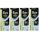 【まとめ買い】Ban(バン) 男性用 ロールオン 30ml(医薬部外品)×4個