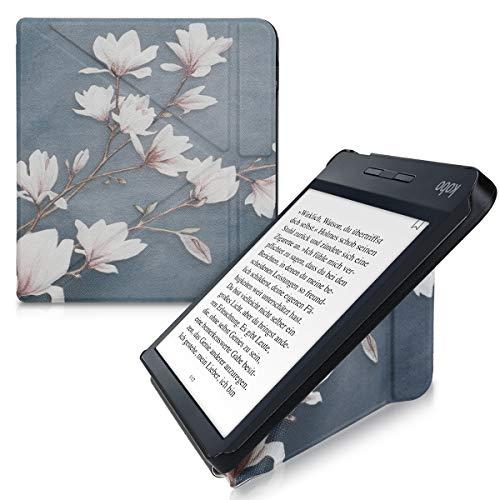 kwmobile Funda Compatible con Kobo Libra H2O - Carcasa magnética de Origami...
