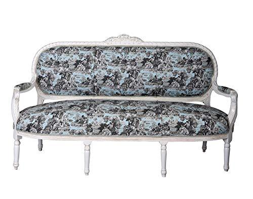 Sofá de salón de estilo rococó, Madame Pompadour cat362b62 Palazzo exclusivo