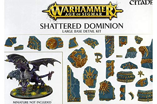 Games Workshop Warhammer Age of Sigmar Shattered Dominion Large Base Detail Kit - Citadel