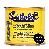 SINTOLIT mastice stucco per marmo colore nero verticale ML 750
