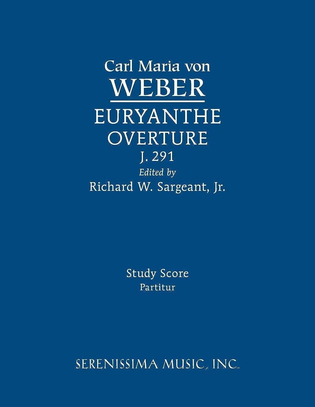 遺産十分ですスポーツEuryanthe Overture, J.291: Study score