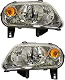 hhr headlight assembly - Headlight Assembly Compatible with 2006-2011 Chevrolet HHR Halogen Composite Passenger and Driver Side