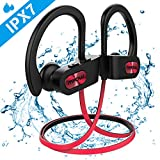 【NOUVELLE VERSION】 Ecouteur Bluetooth Sport, Flame IPX7 Ecouteur Bluetooth Intra...