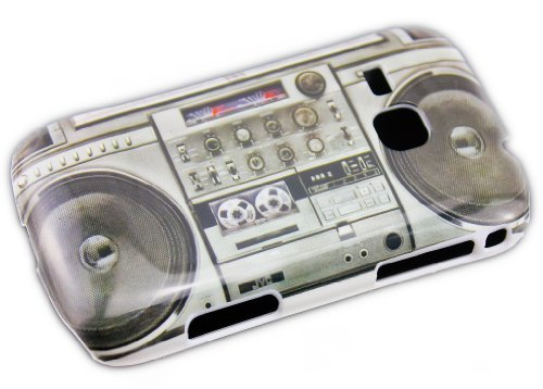thematys Samsung Galaxy Mini 2 S6500 Ghettoblaster Retro Design Schutz-Hülle Hard Case