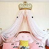 HUIHUIGE Princesa Crown Tent Net Bed Girl Niños Habitación...