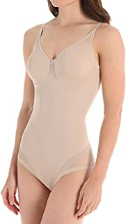 Women's Extra Firm Sexy Sheer Shaping BodyBriefer,