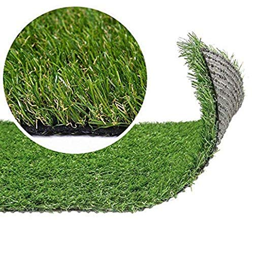 Auart Falsas Gruesas alfombras Grass Hierba Artificial Turf Perfecto for la Cubierta de Hierba y Paisaje al Aire Libre Estera del Animal doméstico Falso césped for Perros (Color : 30mm, Size : 1mX2m)