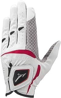 MIZUNO(ミズノ) ゴルフグローブ ダブルグリップ 指先ショートタイプ 2020年モデル メンズ 左手用 人工皮革+シリコーンプリント加工×合成皮革 5MJMS051