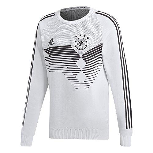 adidas DFB Deutschland Sweatshirt Home Knit Weiss