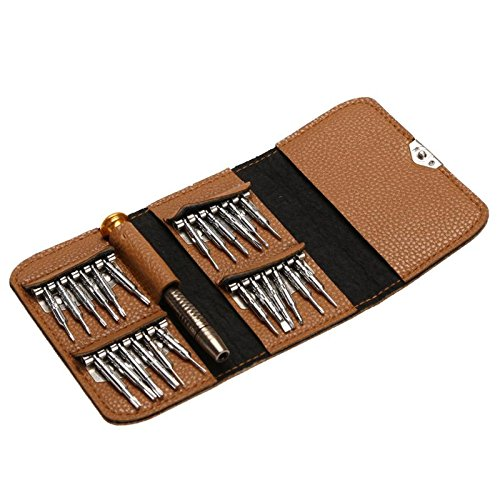 25 in 1Screwdriver Set Torx Multifunctioneel Opening Repair Tool Set Precision schroevendraaier voor Computer Telefoon Camera horloges Tool,A