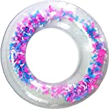 F.O.T Swimming Ring,Inflatable Swim Pool Float Lounger Hammock, Fun Cool Party Water Inflatable Luxury Swimming Pool Float 55'X47'  (Feder)