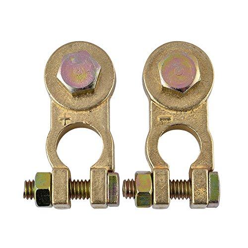 EnRise 12V/24V Courant élevé Cosse Batterie Bornes de Batterie Connecteurs de Batterie(1 Paire)