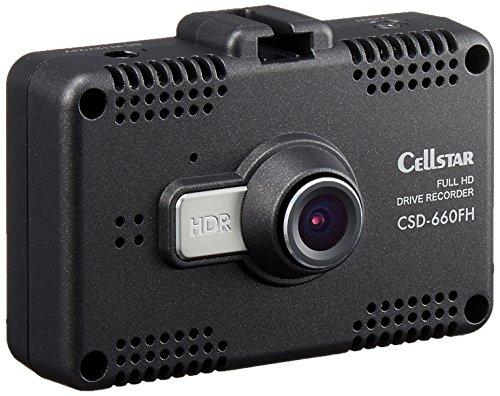 セルスタードライブレコーダー CSD-660FH 日本製3年保証 駐車監視 2.4インチタッチパネル microSDメンテナンス不要