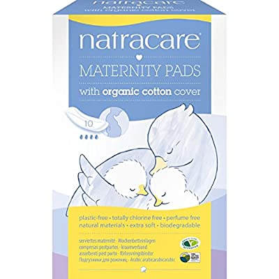 (2 Pack) - Natracare - New Mother Maternity Pads   10pieces   2 PACK BUNDLE