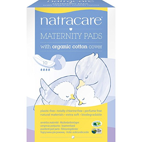 (2 Pack) - Natracare - New Mother Maternity Pads | 10pieces | 2 PACK BUNDLE by Natracare