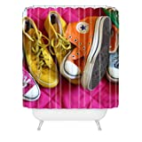 DENY Designs Barbara Sherman My Shoes Shower Curtain, 69