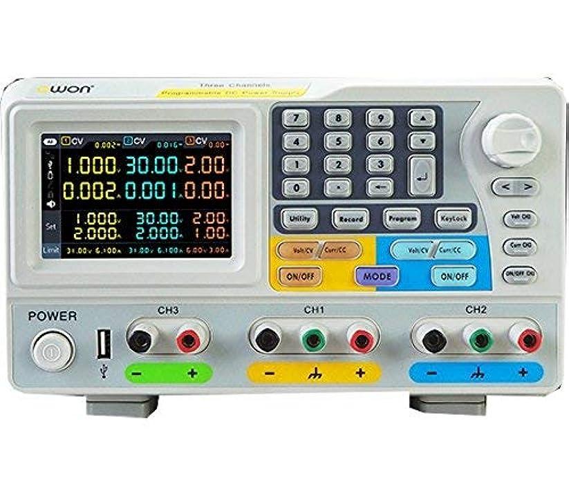 移動するコンベンションお酢3電圧 高電圧 高精度プログラマブル直流安定化電源 60V 3A 2CH 6V3A USB/LAN/RS232C 対応 ODP6033 ODP6033 OWON SCS 日本総代理店2年保証