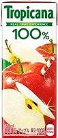 キリン トロピカーナ フルーツ×フルーツ アップル250ml紙パック×24本入×(2ケース)