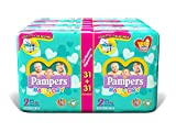 foto Pampers Baby Dry Duo Mini 186 pañales, talla 2 (3-6 kg)