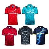 JUNBABY Maillot Irlande Munster Rugby 2017, Cour à Domicile Et à L'ExtéRieur T-Shirt De Rugby Irlandais, Polo AthléTique-Red-XXL
