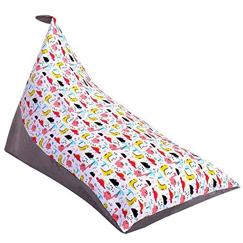 Puf de almacenamiento de animales de peluche, 50 pulgadas de capacidad extra grande para niños y adultos juguete silla de mano sofá bolsa móvil