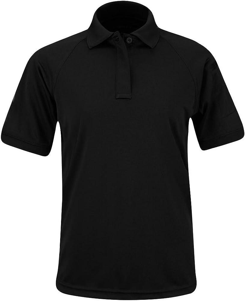 Propper Women's Short Sleeve Uniform Polo, Black, 100% Polyester, X-Large