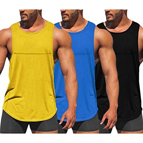 La mejor comparación de Camisetas deportivas para Hombre los 10 mejores. 7