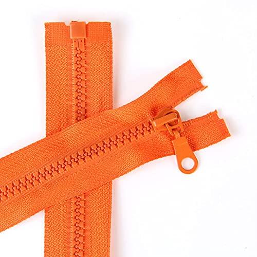 Snger 70cm Open End Cerniera Resina Cerniera Piumino Soprabito Cerniera Accessori per Abbigliamento