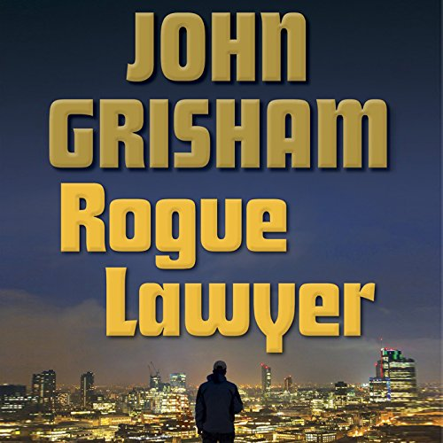 Rogue Lawyer audiobook cover art
