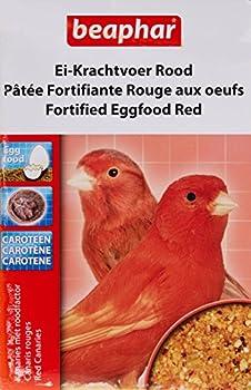Beaphar - Pâtée fortifiante rouge aux œufs, complément alimentaire - oiseau - 150 g