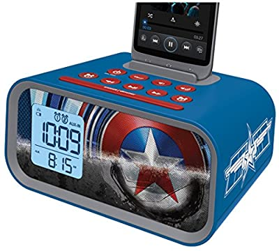 EKids Minnie Mouse Dual Alarm Clock Speaker System