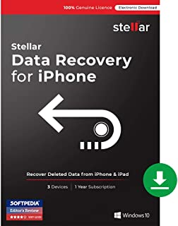 Stellar Phoenix Data Recovery for iPhone (Windows) [Download]