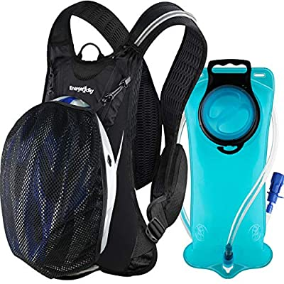 EnergeticSky Hydration Backpack Pack with 2L Hydration Bladder Water Rucksack Backpack Bladder Bag Cycling Bicycle Bike/Hiking Climbing Pouch