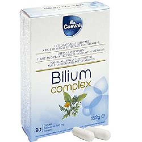 Nahrungsergänzungsmittel Leberfunktion Per Il Fegato Bilium Complex 30 Capsule