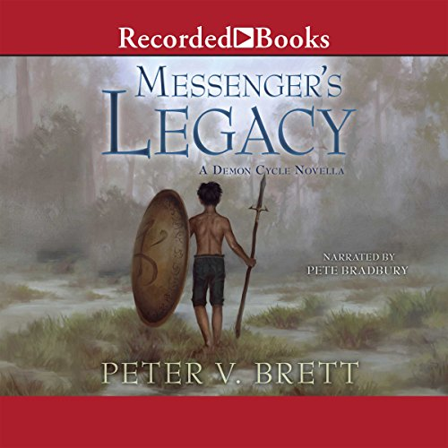 Messenger's Legacy audiobook cover art