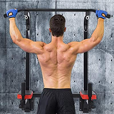 Amazon - Save 70%: winwintom Pull Up Chin Up Bar,Dip Bars Gym Workout Fitness Home Mount Fitn…